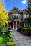 Authentic old house in plovdiv. Antiquity house in the Old Plovdiv Stock Photo