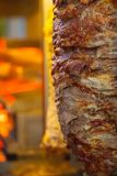 Authentic organic food. Gyros Greek delishes.  royalty free stock photography