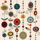 Authentic ornament design vector Stock Images