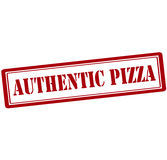 Authentic pizza Royalty Free Stock Photo
