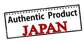 Authentic product Japan Royalty Free Stock Photo