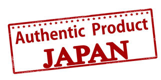 Authentic product Japan Royalty Free Stock Images
