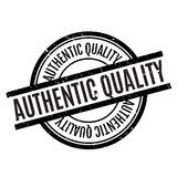 Authentic Quality rubber stamp Stock Photos