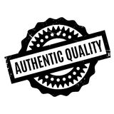 Authentic Quality rubber stamp Royalty Free Stock Photos