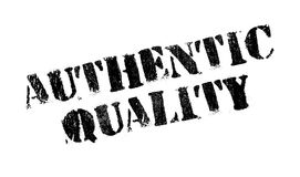 Authentic Quality rubber stamp Stock Image