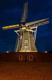 Authentic renovated windwill in Winterswijk in the Royalty Free Stock Photo