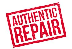 Authentic Repair rubber stamp Royalty Free Stock Images