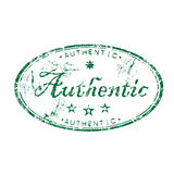 Authentic rubber stamp Royalty Free Stock Photos