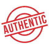 Authentic rubber stamp Royalty Free Stock Image