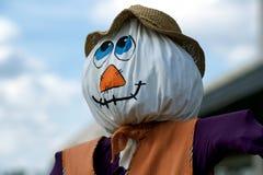 Authentic Scarecrow Royalty Free Stock Photo