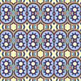 Authentic seamless geometry vintage pattern Royalty Free Stock Photography