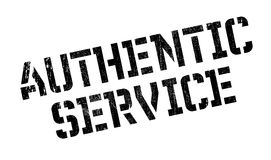 Authentic Service rubber stamp Royalty Free Stock Photos