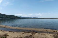 Authentic shore at Rabisha  lake near by Magura cave Royalty Free Stock Photo