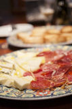 Authentic spanish delicatessen Royalty Free Stock Photo