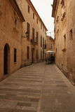 Authentic Spanish Street Scene Royalty Free Stock Photos