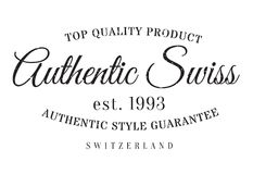 Authentic swiss product stamp Royalty Free Stock Images