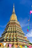 Authentic Thai Architecture in Wat Pho Stock Photo