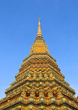 Authentic Thai Architecture in Wat Pho Stock Photos