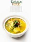 Authentic thai cuisine with decoration. Stock Images