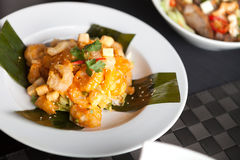Authentic Thai Shrimp Dish Royalty Free Stock Image
