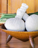 Authentic thai spa Stock Image