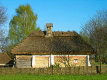 Authentic Ukrainian house in Pirogovo museum, Kiev Royalty Free Stock Photography