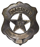 Authentic US Marshall Badge Stock Image