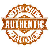 Authentic vector stamp Royalty Free Stock Image
