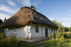 Authentic village house. Royalty Free Stock Photo