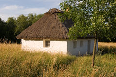 Authentic village house. Royalty Free Stock Photography