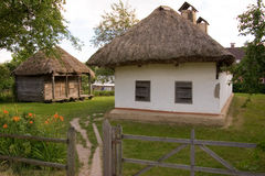 Authentic village house. Royalty Free Stock Images