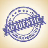 Authentic vintage stamp Royalty Free Stock Images