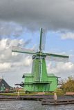 Authentic windmill in Holland Royalty Free Stock Photography