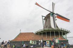 Authentic windmills in Holland Royalty Free Stock Images
