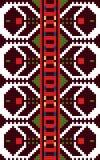 Authentiek Bulgaars ornament 06 Stock Afbeeldingen