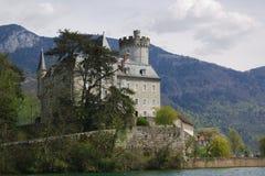 Authentiek Frans kasteel royalty-vrije stock afbeelding