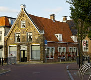 Authentiek Nederlands huis Stock Afbeeldingen