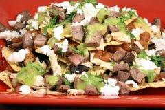 Authentieke Mexicaanse nachos Stock Foto's