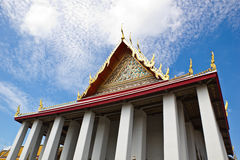 Authentieke Thaise Architectuur in Wat Pho, Thailand Royalty-vrije Stock Afbeelding