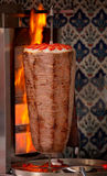 Authentieke Turkse doner kebab Royalty-vrije Stock Foto's