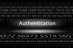 authentification illustration libre de droits