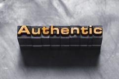 Authentique Photo stock