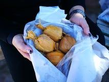 Authentische Humahuaca-gefüllte Maismehltaschen essfertig lizenzfreie stockbilder
