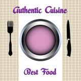 Authentische Küche Stockfoto