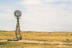 Authentische Windmühle Lizenzfreie Stockfotografie