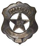 Authentisches Abzeichen US-Marshall Stockbild