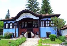 Authentisches bulgarisches altes Haus Lizenzfreies Stockbild
