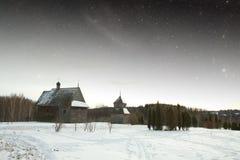 Authentisches Dorf des 18 Lizenzfreie Stockfotografie