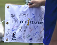 Authographs at The Players Championship 2012 Stock Photos