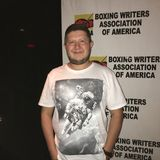 Author of B Is for Boxing Attending Boxing Writers Dinner At Copacabana Royalty Free Stock Photos